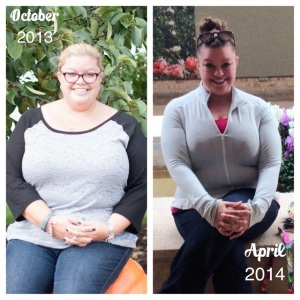 Two visits to the Botanic Gardens, a few months and 70 pounds lighter!