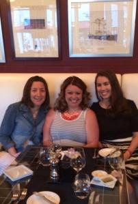 Dinner at Cafe des Architectes with Mary and Lara