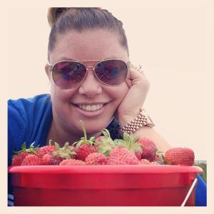 Strawberry Selfie